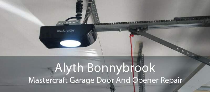 Alyth Bonnybrook Mastercraft Garage Door And Opener Repair