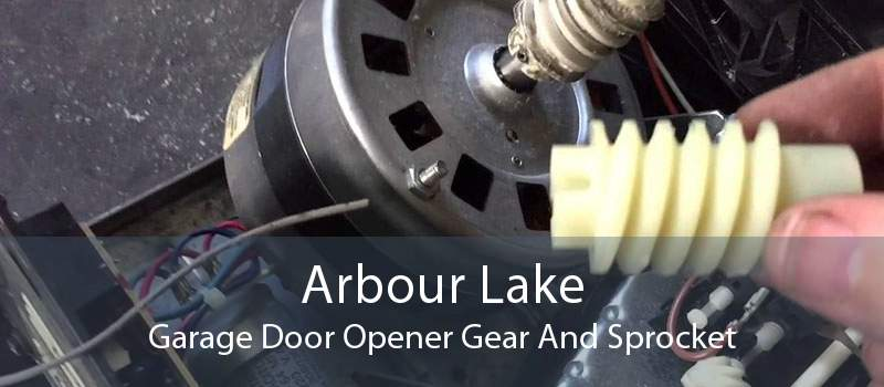 Arbour Lake Garage Door Opener Gear And Sprocket