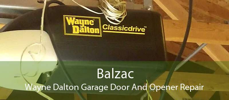 Balzac Wayne Dalton Garage Door And Opener Repair