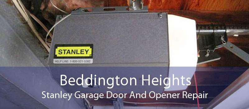 Beddington Heights Stanley Garage Door And Opener Repair
