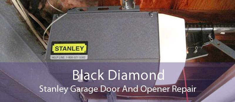 Black Diamond Stanley Garage Door And Opener Repair