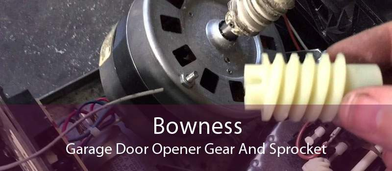 Bowness Garage Door Opener Gear And Sprocket