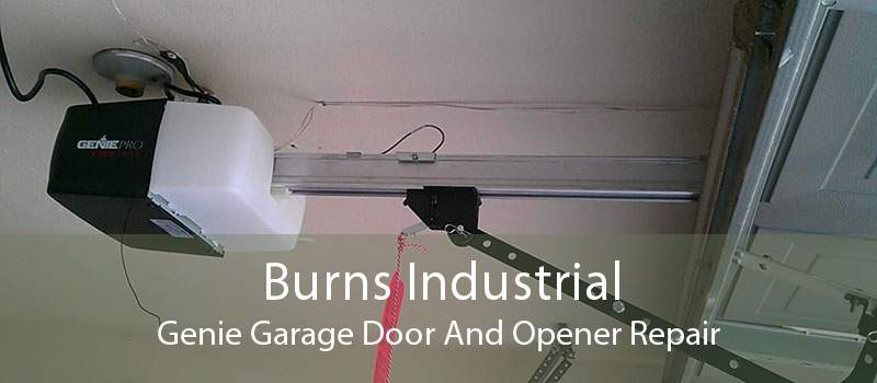 Burns Industrial Genie Garage Door And Opener Repair