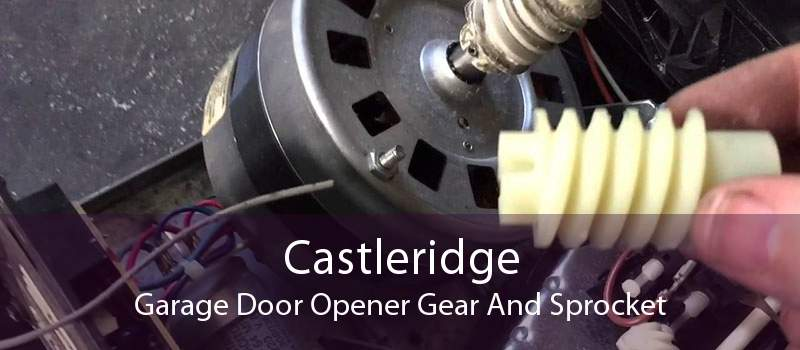 Castleridge Garage Door Opener Gear And Sprocket