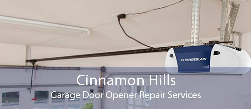 Cinnamon Hills Garage Door Opener Repair Services