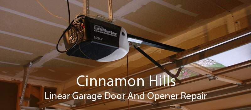 Cinnamon Hills Linear Garage Door And Opener Repair