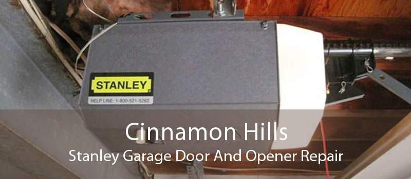 Cinnamon Hills Stanley Garage Door And Opener Repair