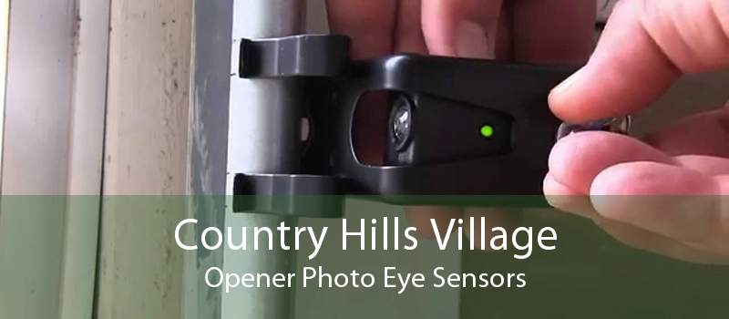 Country Hills Village Opener Photo Eye Sensors