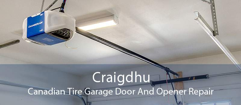 Craigdhu Canadian Tire Garage Door And Opener Repair