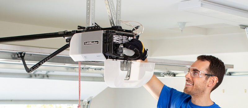 commercial & residential garage door opener repair service in Burlington